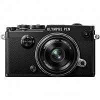Olympus Pen-F Kit 17-18 Black. Фотокамера с объективом