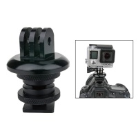 "KUPO KS-134 GoPro Mount w/Hot Shoe adapter. Площадка c адаптером ""горячий башмак"""