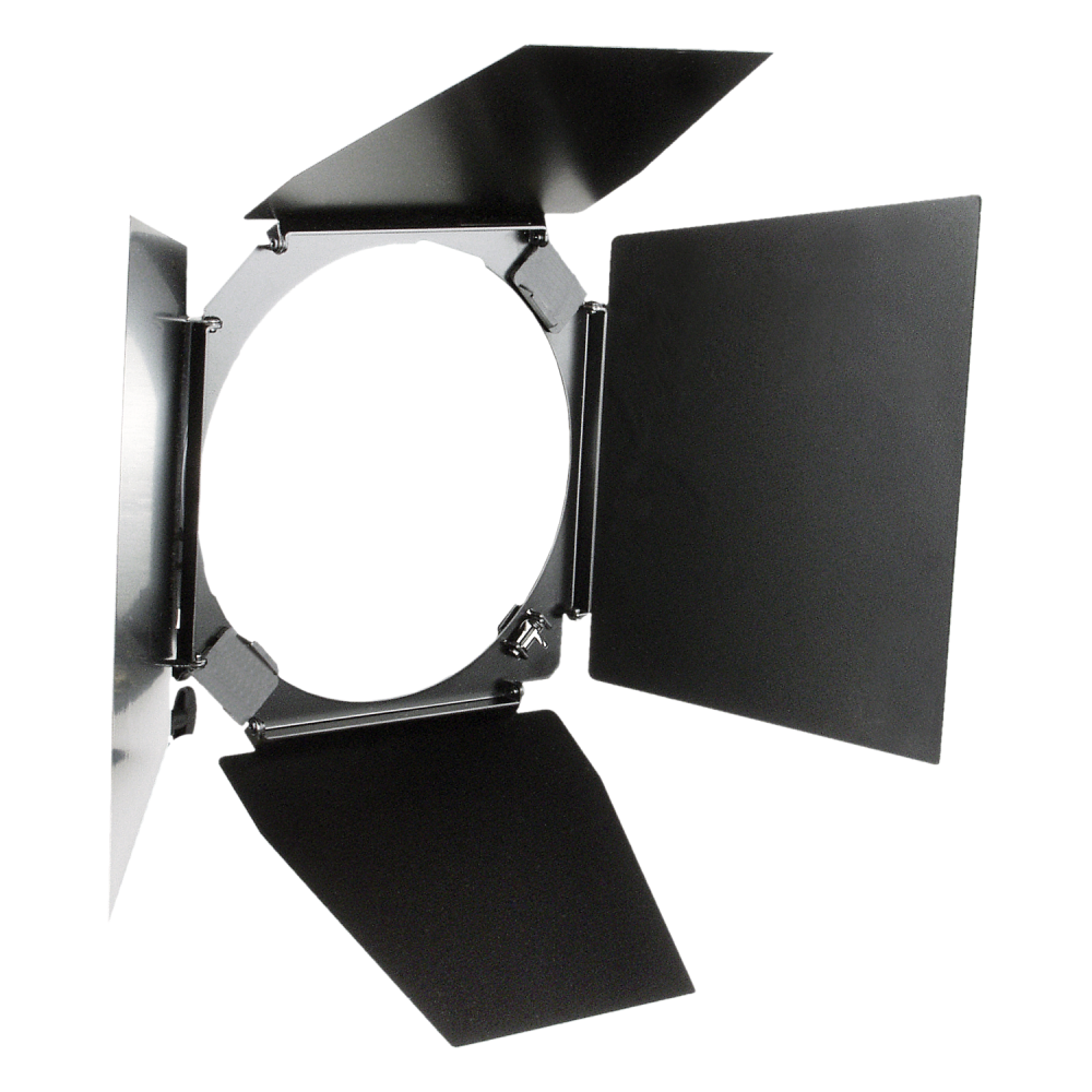"HENSEL 4-wing Barn Door with Filter Holder for 9"" reflector. Шторки для рефлектора 9"""