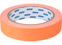 KUPO CS-2415OG Cloth Spike Tape, orange 24mm*13,72m Скотч оранжевый
